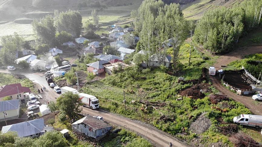 Deprem bölgesine yapılan yardımlar açıklandı