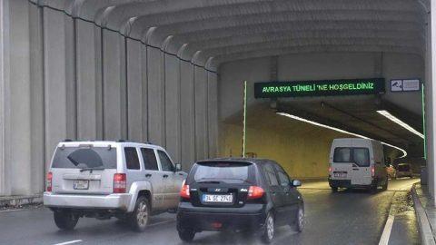 Avrasya Tüneli'nde corona faturası