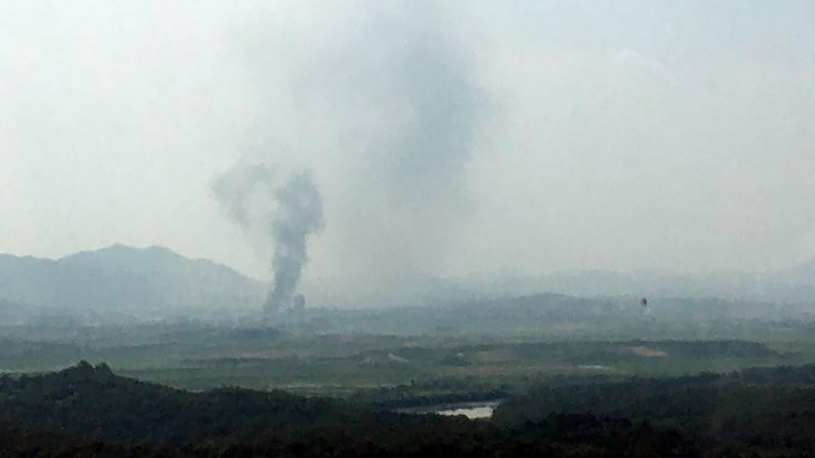 Tansiyon yükseliyor... Flaş iddia: Kuzey Kore iletişim ofisini havaya uçurdu