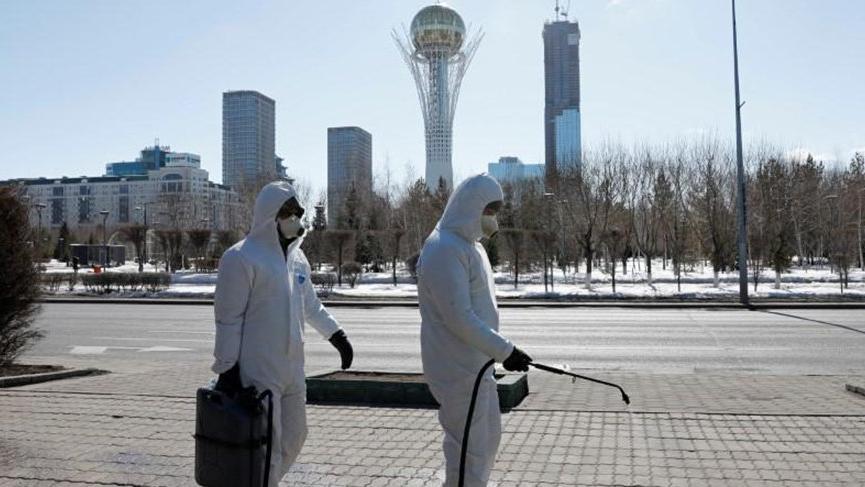 Çin'in komşusu Kazakistan'da Covid-19 alarmı!