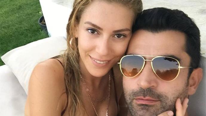 Sinem Kobal'dan eşi Kenan İmirzalıoğlu'na romantik kutlama