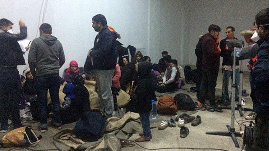 Yakalanan kaçak göçmenlerde ilk kez corona çıktı!