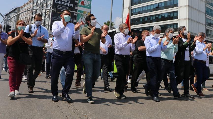 Barolar Ankara'ya yürüyüş başlattı