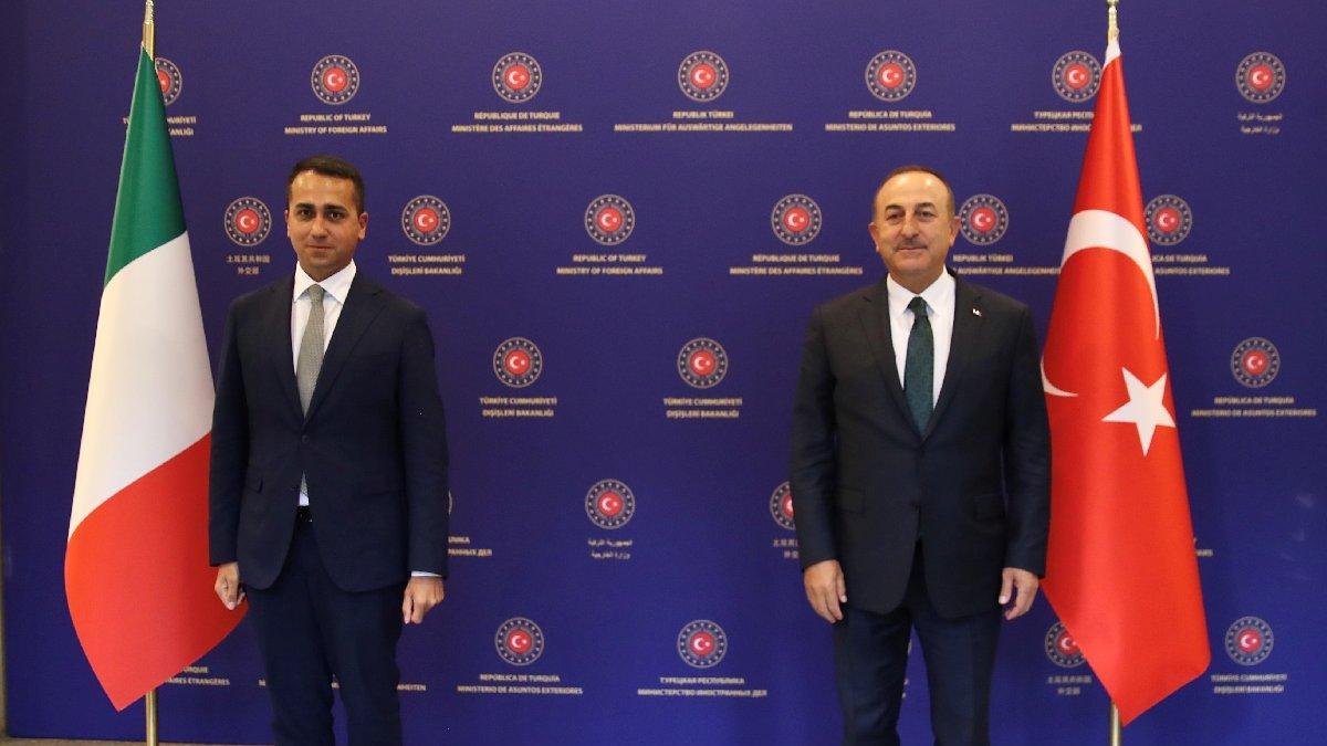 Çavuşoğlu'ndan Libya mesajı: Kalıcı barış için İtalya'yla çalışacağız