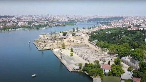 'Haliç'teki tarihi tersaneler tamamen tahrip edildi'