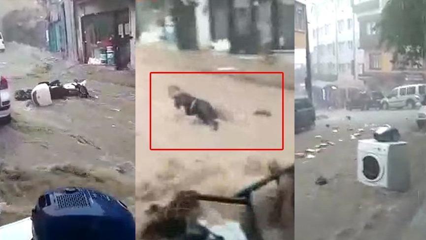Sel görüntüleri isyan ettirdi: Sahipsiz Bursa, sahipsiz vatandaş!