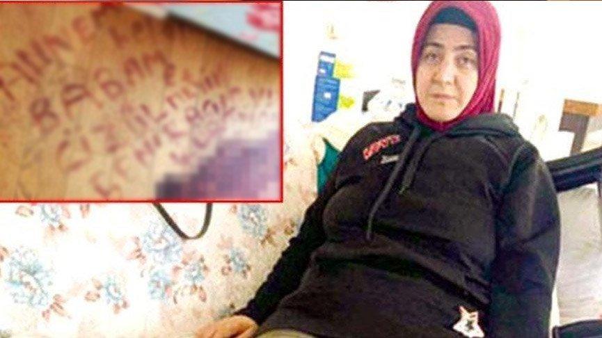 Kocasının vurduğunu kanıyla yere yazdı! Saldırgan yakalandı