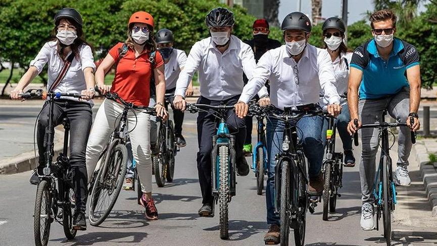 Bisiklete binenlere maske takmak zorunlu mu?