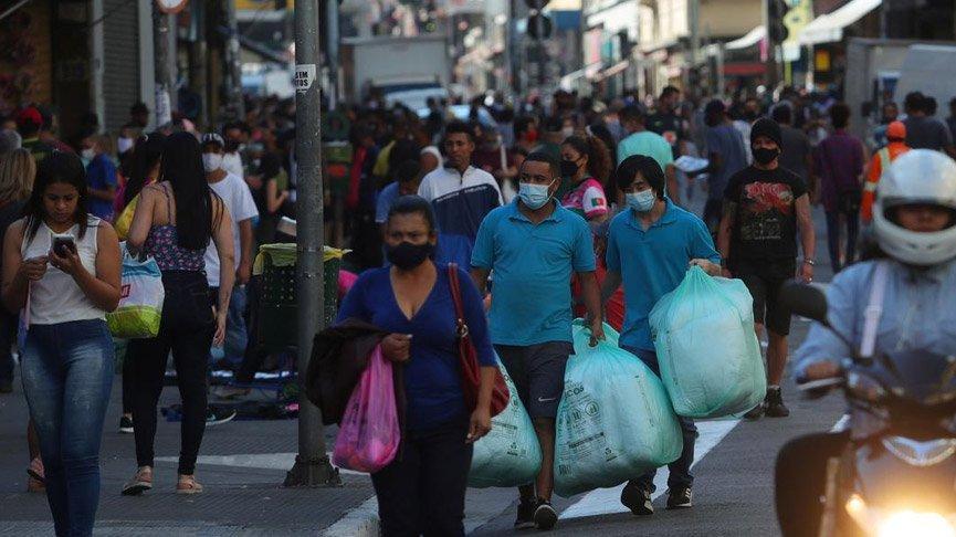 Brezilya'da corona virüsünden ölenlerin sayısı 50 bini aştı!