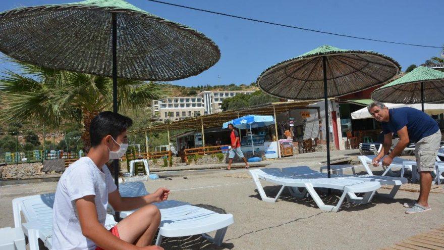 Datça'da sosyal mesafeli tatil