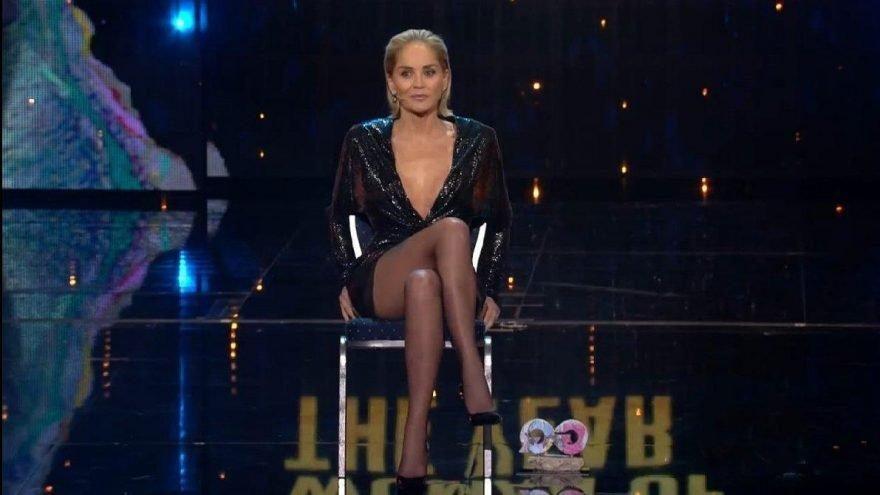 Sharon Stone'u yıldırım çarptı