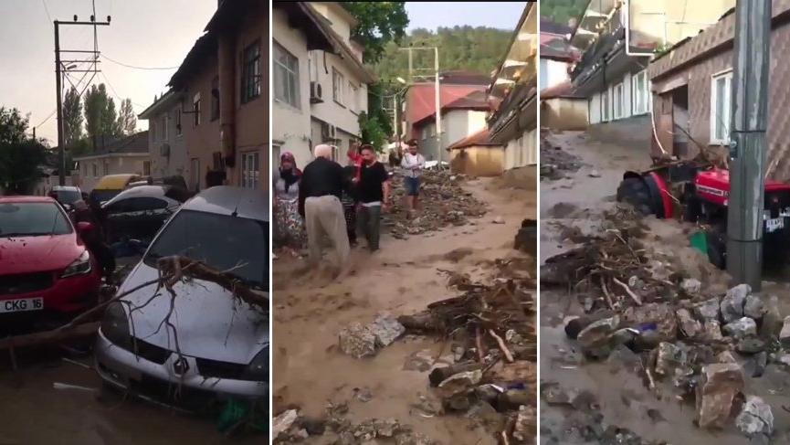Sel felaketinin yaşandığı Bursa için Meteoroloji'den 'sarı' kodlu yağış uyarısı!