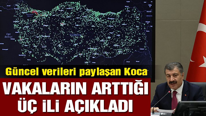 Son dakika… Bakan Koca Türkiye'deki güncel corona verilerini açıkladı (23.06.2020)