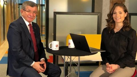Davutoğlu'ndan Nevşin Mengü'ye dikkat çeken açıklamalar