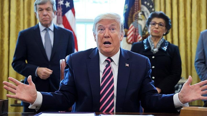 Trump'tan sert tepki: Denerlerse ciddi bir güçle karşılaşacaklar!