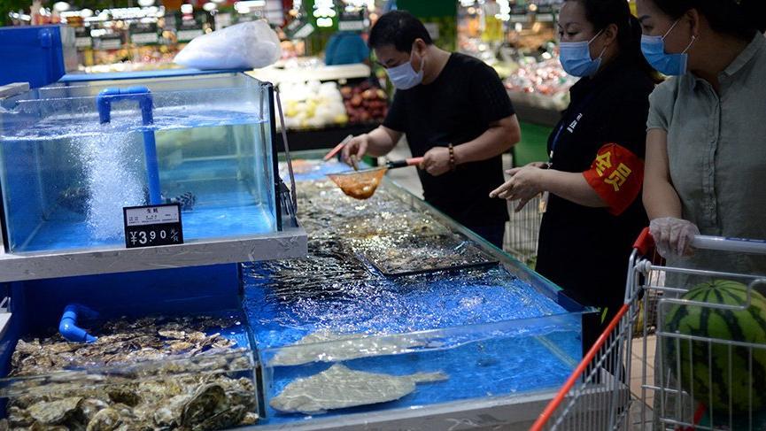 Pekin'deki corona salgını sonrası deniz ürünleri satışında sert düşüş!