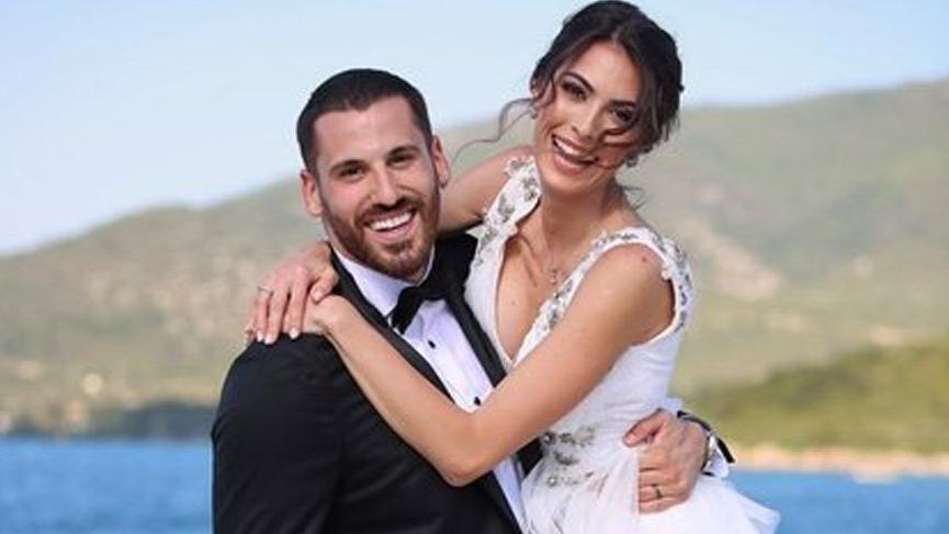 Ezgi Avcı ile Nemanja Djurisic evlendi