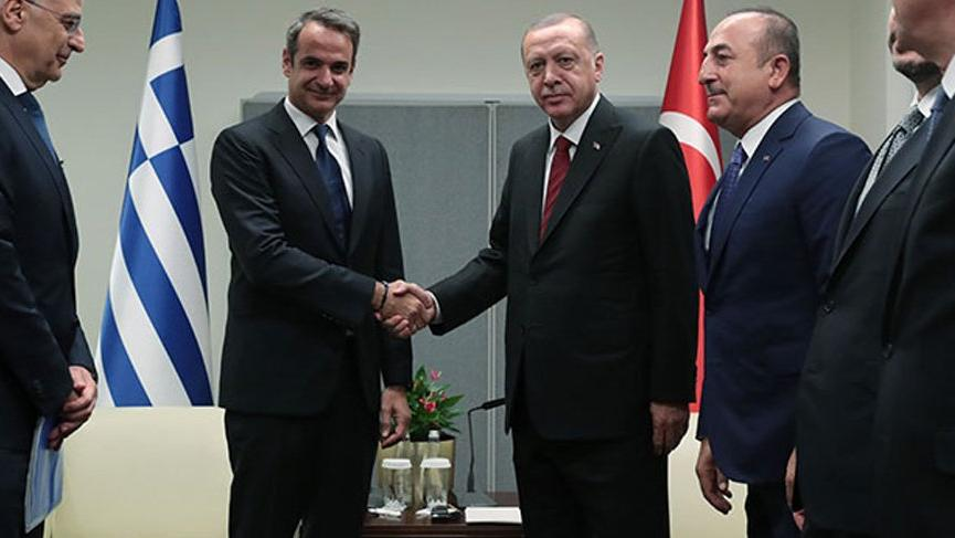 Cumhurbaşkanı Erdoğan, Yunan Başbakan ile telefonda görüştü!