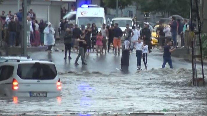 Esenyurt'taki sel felaketinin bilançosu ortaya çıktı