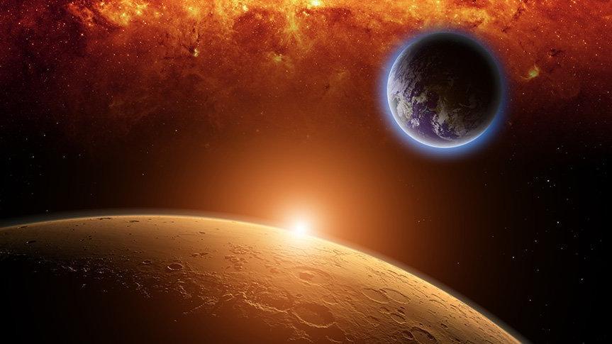 Mars Koç burcunda: Kral tahtına çıkıyor