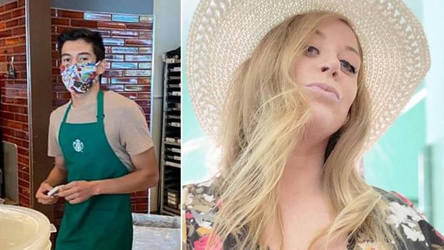 Maske takmayan kadına hizmet vermeyen Starbucks çalışanı 60 bin dolar bahşiş aldı!