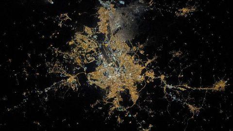 NASA tüm dünyaya Ankara'nın fotoğrafını paylaştı!
