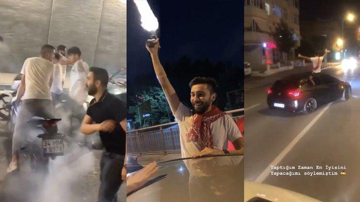 İstanbul'da asker uğurlama skandalı: Polis her yerde onları arıyor