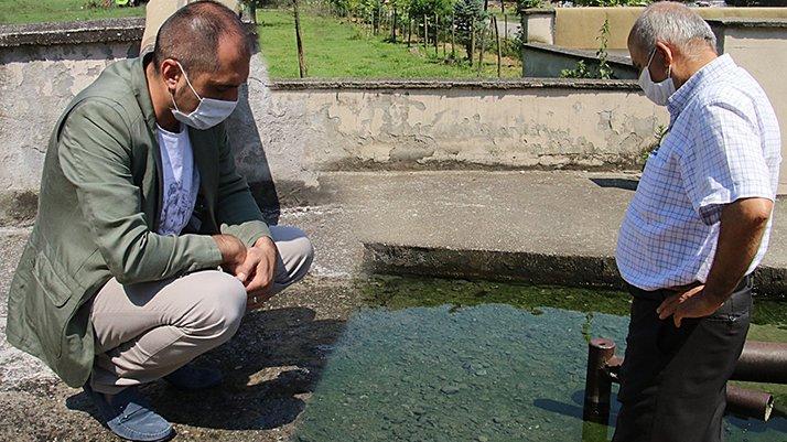Depremin ardından suyun kokusunda yaşanan değişim köylüleri endişelendirdi