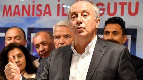 İnce'den Davutoğlu'na destek: Sessiz kalamam