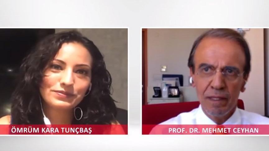 Prof. Dr. Mehmet Ceyhan: Şu an hiçbir ülkede ikinci dalga diye bir şey yok