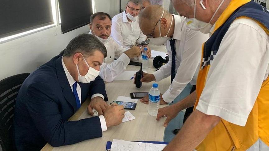 Sağlık Bakanı Koca'dan havai fişek fabrikası ile ilgili açıklama
