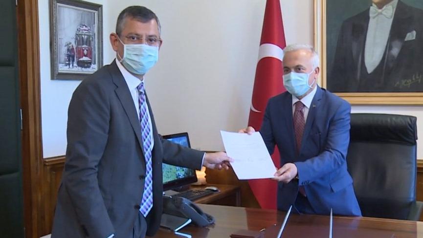 Haluk Koç'un TBMM başkan adaylığı başvurusu teslim edildi