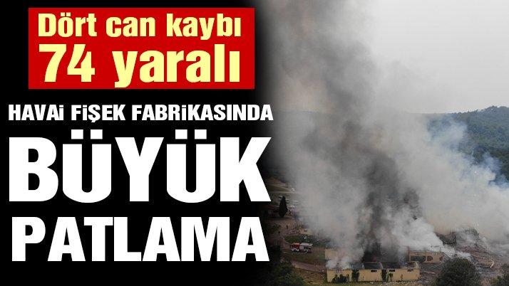 Son dakika… Sakarya'da havai fişek fabrikasında büyük patlama: Dört can kaybı, 97 yaralı