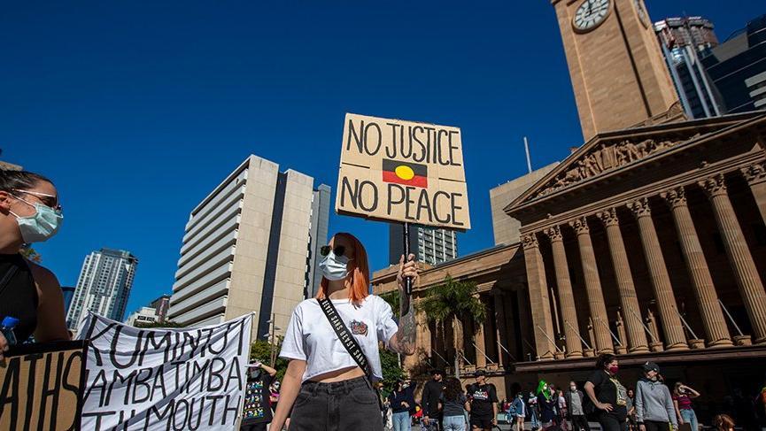 Avustralya'da ırkçılığa karşı protesto!
