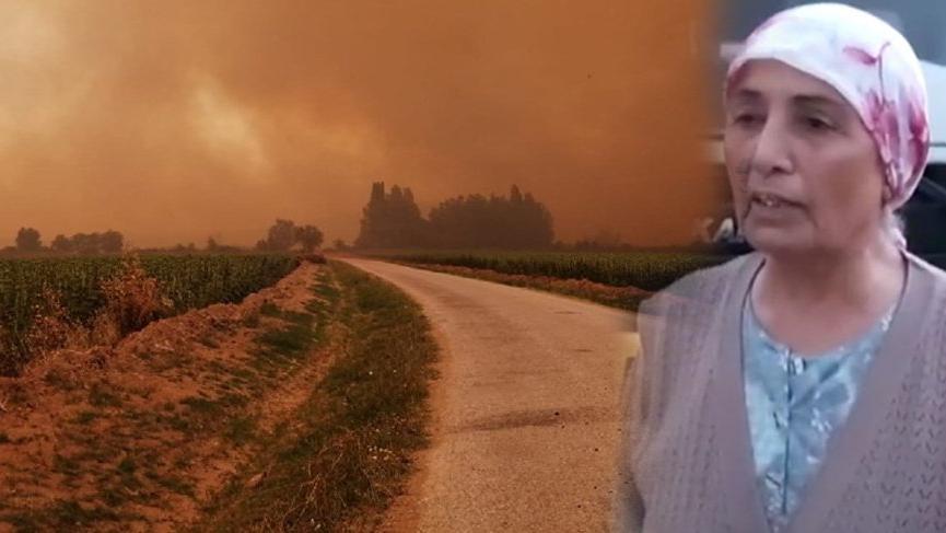 Yöre halkı yaşananları SÖZCÜ'ye anlattı: Jandarma bizi çıkarmasaydı dumandan zehirlenecektik!