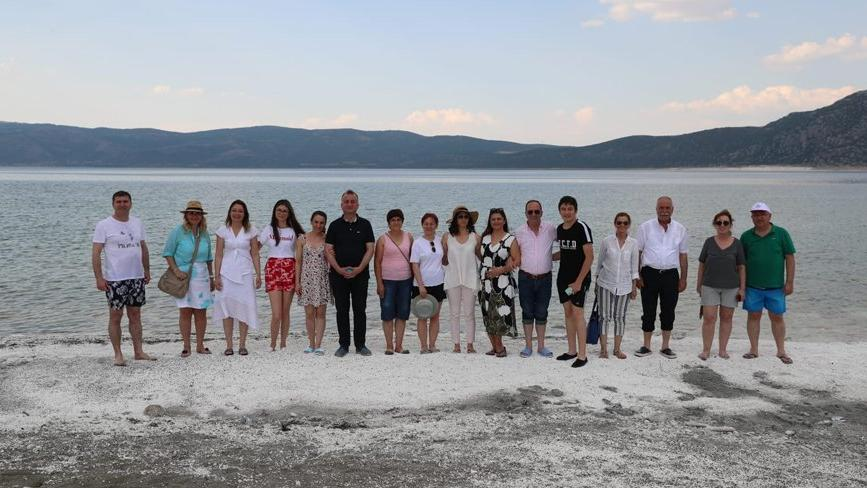 CHP'li belediye başkanları Salda'da buluştu