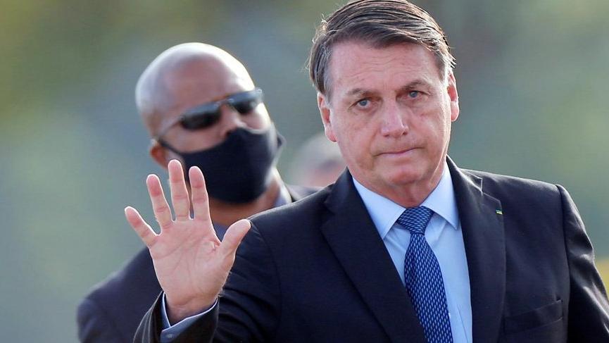 Bolsonaro'nun Covid-19 testi pozitif çıktı!