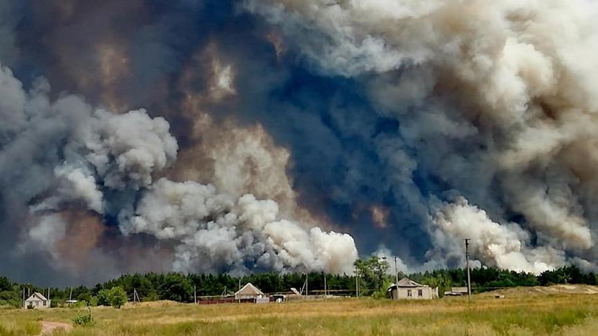 Ukrayna'daki orman yangınında 4 kişi öldü!