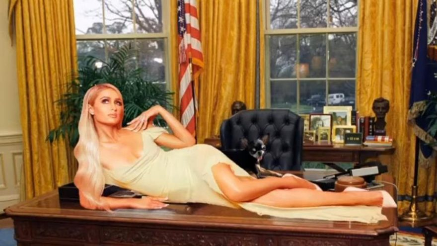 Paris Hilton da ABD Başkanlığı'na aday oldu