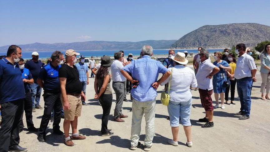 Vatandaş: 'Salda Gölü'ne dokunma' dedi