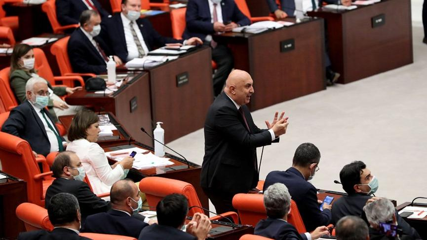 Türkiye Büyük Millet Meclisi'nde tansiyon yükseldi!