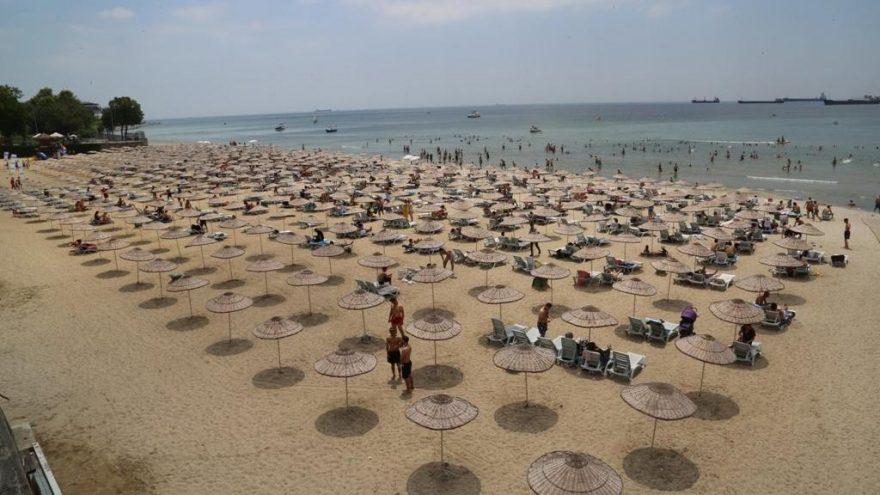 Florya Güneş Plajı'nda spor etkinlikleri başladı