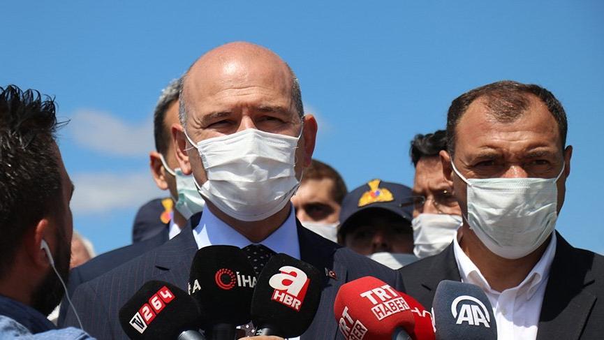 İçişleri Bakanı Soylu'dan Sakarya'daki patlamayla ilgili açıklama