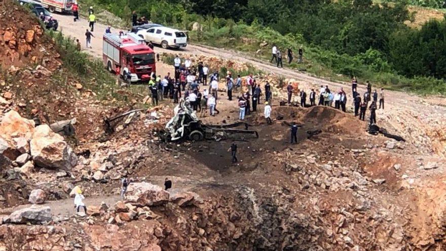 Sakarya'daki patlamayla ilgili dikkat çeken açıklama: Patlayıcılar için hâlâ 33 yıllık yönetmelik kullanılıyor!