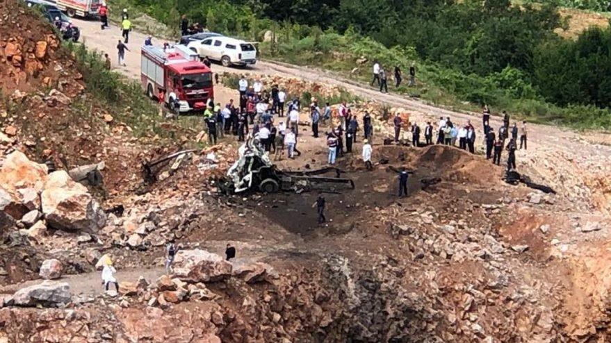 Jandarmadan Sakarya'daki patlama ile ilgili açıklama!