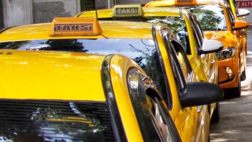 Taksicilerden İBB'ye dava!