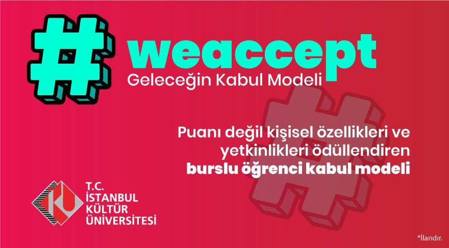 WeAccept: Burslu Öğrenci Kabul Programı