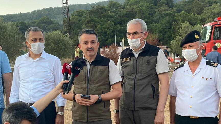 Tarım ve Orman Bakanı açıkladı! Heybeliada yangınında flaş gelişme