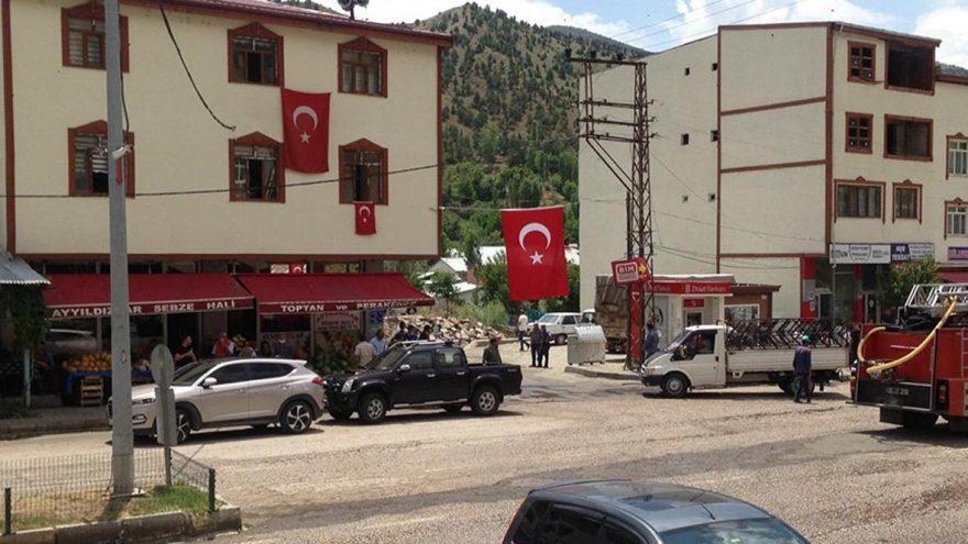 Operasyondaki Mehmetçiğe cami hoparlörlerinden destek
