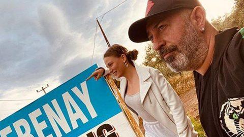 Serenay Sarıkaya sevgilisi Cem Yılmaz'dan ayrıldığı haberlerine açıklık getirdi
